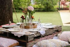 Boho Garden Party Birthday Party Ideas | Photo 2 of 20 | Catch My Party
