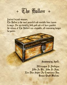 """""""The Hallow"""" - Charmed - Book of Shadows"""