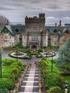 Hatley Castle - Greater Victoria, Canada
