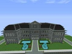 A minecraft mansion, or university building...