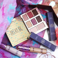 Mini Tarte Haul including Shape Tape and Dream Big Palette #Regram via @ladywritesblog