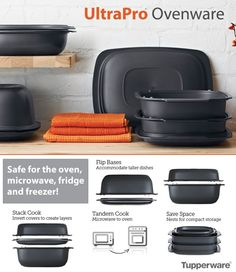 UltraPro is amazing. Freezer, Fridge, tandem cook in the microwave and oven. Place your order at www.my.tupperware.com/amandajones