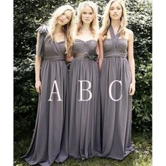 Bridesmaid Dress, Long Dress, Gray Dress, Dress Sale, Long Gray Dress, Gray Bridesmaid Dress