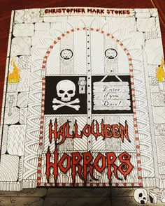 """42 Likes, 2 Comments - @twistedalchemy on Instagram: """"One more adult coloring book. This one is super cool. Should keep me entertained for a while. 😊💀…"""""""