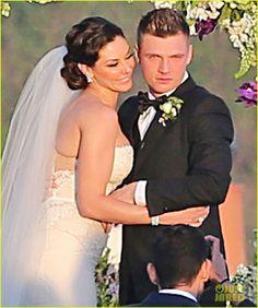 Backstreet Boys' Nick Carter is Married - Wedding Photos Here! | Backstreet Boys, Lauren Kitt, Nick Carter, Wedding, Wedding Photos, Wedding Pictures Photos | Just Jared
