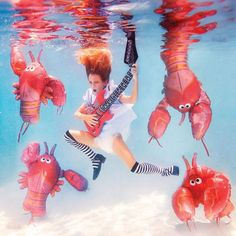 Elena Kalis - Alice in WaterLand - Alice in WonderWater - Lobster Quadrille