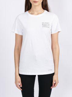 white t-shirt streetwear brand design saint petersburg russia    Футболка ЮНОСТЬ W – Каталог