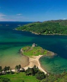 Castle Tioram in Ardnamurchan #Scotland