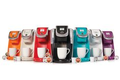 Featuring revolutionary Keurig 2.0 Brewing Technology™, the K250 Coffee Brewer is designed to read the lid of each K-Cup® or K-Carafe™ pack and boasts convenient 1-touch operation to perfectly brew a single-serve cup or a 4-cup carafe.