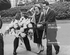 King Baudouin of Belgium and his fiance Dona Fabiola de Mora y Aragon... News Photo 172013683 | Getty Images
