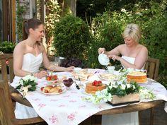 Afternoon tea - runaway gay weddings