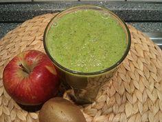 Grüner Kiwi-Apfel-Smoothie 1