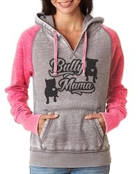 Love Bully Collection Raglan Glitter Zip Up Hoodie Love Bully PitBull American Bully Hoody glitter raglan hoody  small through 2x
