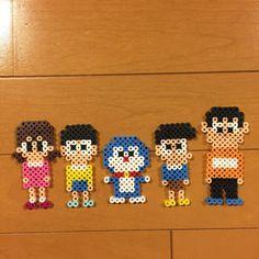 Doraemon perler beads by Pink