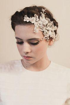 Contemporary bridal accessories from Klaire van Elton