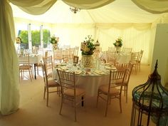 Marquee add on to dining room. Venue seats up to 200 guests with this option. Wedding Receptions, Wedding Ceremony, Civil Wedding, Dining Room, Wedding Ideas, Doors, Table Decorations, Weddings, Country