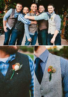 groomsmen casual attire wedding groomsmen attire jeans Laid Back Country Wedding Country Wedding Groomsmen, Country Wedding Dresses, Wedding Men, Wedding Suits, Fall Wedding, Wedding Country, Diy Wedding, Country Weddings, Wedding Ideas