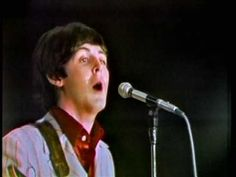 The Beatles - Yesterday - live in Japan, July 1, 1966 / I am pinning every Beatles song that Paul sang the lead in, for two reasons: (1) for a vocal comparison, & (2) because Paul was my favorite / I chose this specific video of this song as a point of comparison, because this is one of the last concert appearances by the Beatles before they stopped touring & Paul was allegedly replaced by a look alike in late 1966. There is no doubt that this is in fact the one and only James Paul…