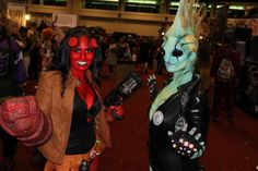 Hellboy & Abe Sapien at MegaCon. Cosplayers by Lauren See & Gothic Sushi