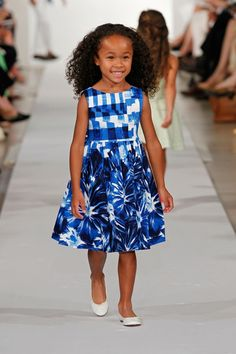 Oscar-de-la-renta-childrens-spring-2013 collection. My little girl will look like this and I will dress her in cute dresses. Probably not Oscar though....