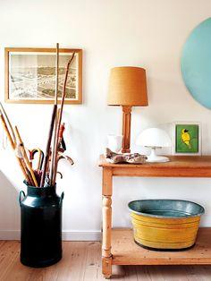 Une maison de campagne au design naturel - PLANETE DECO a homes world Decorating Your Home, Interior Decorating, Design Interior, Simple Interior, Cool Ideas, Home And Deco, Luxury Living, Decoration, Modern Farmhouse