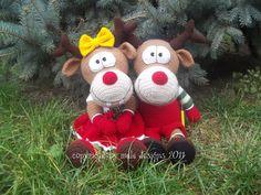 Elchfriede und Ewald sind extragroße Kantenhockerelche die jede weihnachtliche Dekoration hervorheben - aber auch prima in das Spielzeugregal der K...
