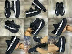 Factory Authentic Kanye West Shoes Yeezy 350 Core Black White 2018 Online, How To Buy Genuine Yeezy Boost 350 Wholesale Adidas Running Shoes, Adidas Shoes, Teen Fashion, Fashion Shoes, Fashion Trends, Runway Fashion, Kanye West 2016, Winter Outfits, Summer Outfits