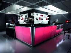 Foto Arredamento Bar Moderno.42 Fantastiche Immagini Su Banchi Bar Retrobanchi Bar Bar