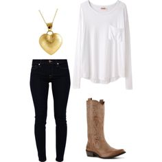 """""""School outfit"""" by countrygirl321 on Polyvore"""