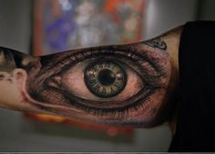 Incredible eye tattoo by Yomico Moreno. #inked #inkedmag #realism #eye #art #realistic #eyeball