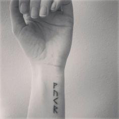 My Viking Rune Tattoo - Wunjo, Uruz, Kenza & Raido