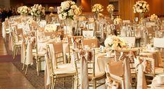 Chivari Chars with table settings