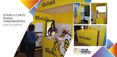 BIOGAIA.jpg  @colorimpresosac Producción Stand #BioGaia #farmindustria agradecemos a #IntroFilms por la confianza.
