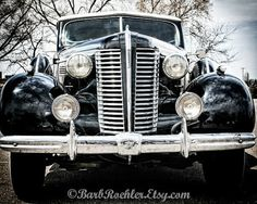 Buick 8 - Rustic Wall Art - Classic Car Art Prints - Retro Print - Vintage Car Photography - Garage Art - Fathers Day