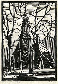 St. Stephen's Anglican in Toronto ARTIST : Janet E. Gunn