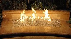 Fire Pit Glass Installation Instructions - Fire Pit Glass Rocks - great ambiance to a backyard for parties or romantic evenings!