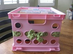 using crates for files - love the ribbon