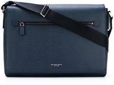 Michael Kors large 'Harrison' laptop bag Laptop Case, Blue Bags, Hermes Kelly, Michael Kors, Leather, Hermes Kelly Bag