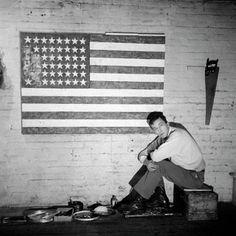storia dell'arte moderna e contemporanea: 1955 Jasper Johns Flag