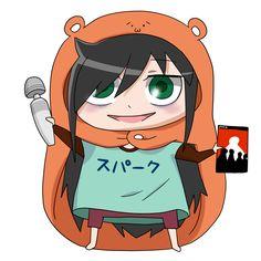 Watamote crossover Himouto! Umaru-chan  Esto está genial :v/