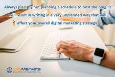 you must have planned a schedule to make sure to deliver the right amount of content and post it at the right time. Make a schedule of weekly and monthly basis and plan what you are writing and when Top Digital Marketing Companies, Digital Marketing Strategy, Content Marketing, Seo Company, In Writing, Seo Services, Search Engine, Schedule, Advertising