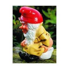 Zwerg auf Nachttopf, 29 cm, Gartenzwerg, Kunststoff: Amazon.de: Garten, Gartenzwerg, Zwerg, Gnom, Gartenfigur, Gartendeko, Märchen, Sieben Zwerge, dwarf, garden gnome, Dekoration,