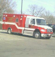 City of North Kansas City Missouri EMS ambulance