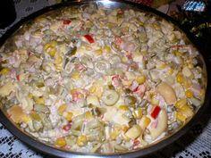 Sałatka z makaronem tortellini i oliwkami - zdjęcie 2