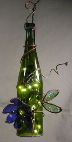 bottle light green