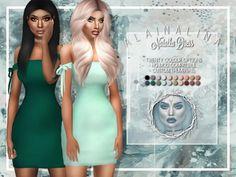 Natalka Dress at AlainaLina • Sims 4 Updates