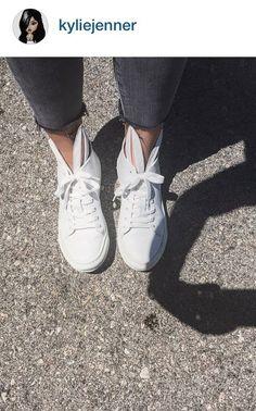 Kylie Jenner wearing Minna Parikka Bunny Sneaks
