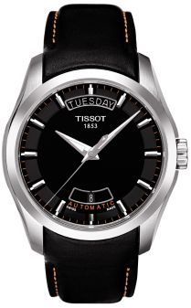 T035.407.16.051.01, T0354071605101, Tissot couturier automatic watch, mens