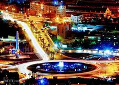 Damascus city at night ... It use to be my back yard/ summer place ... How I miss it ): ... kd