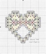 Free Large Hardanger Cross Pattern - Printable Hardanger Cross Chart